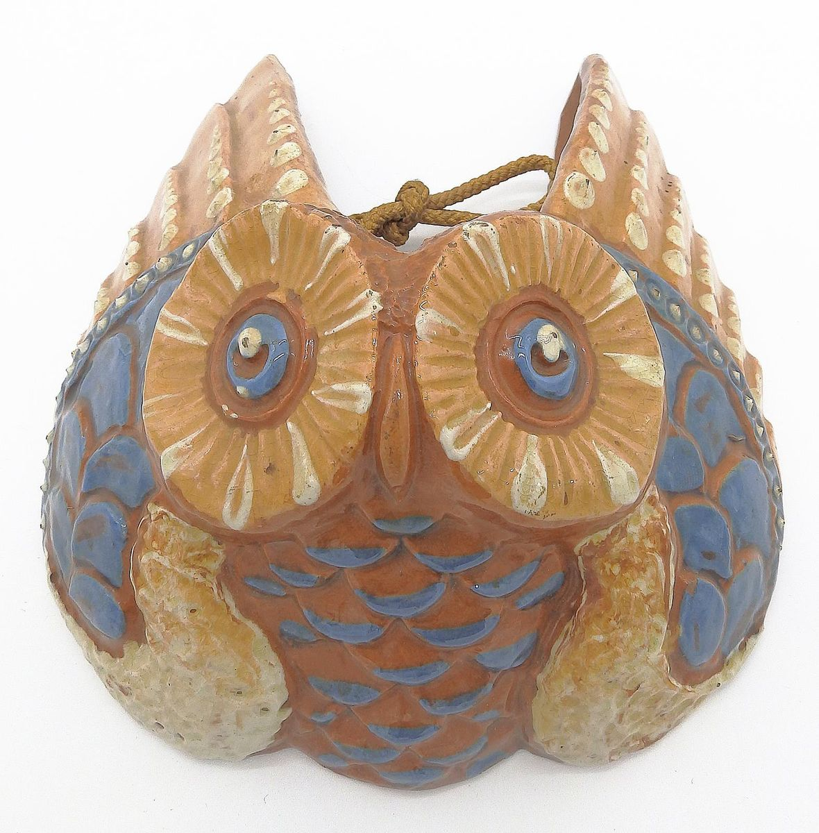 Pottery Owls For Sale Antique Pottery Owl Wall Pocket By C H Brannam For Sale At