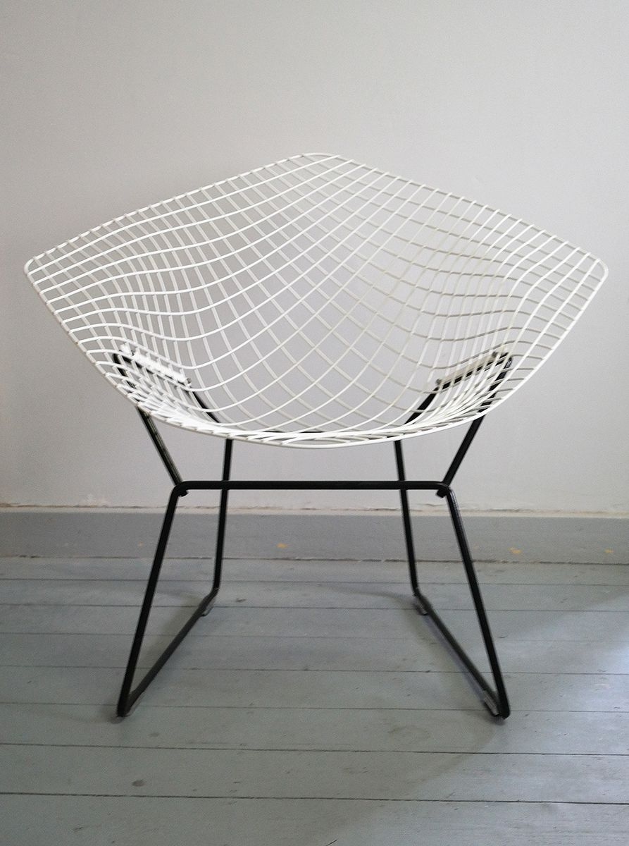 Diamond Sessel Diamond Chair Von Harry Bertoia Für Knoll International 1964