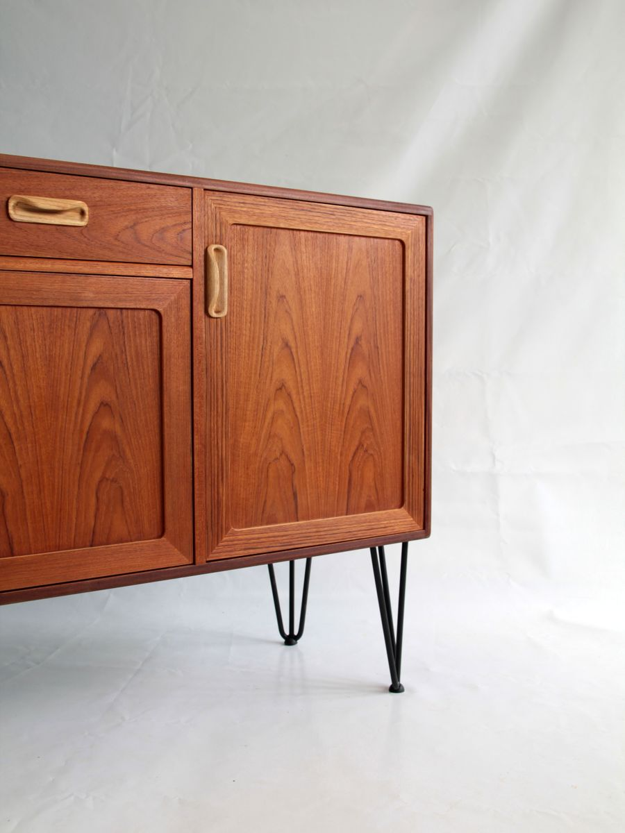 Vintage Sideboard Hairpin Legs Buffet Sideboard From G Plan 1970s