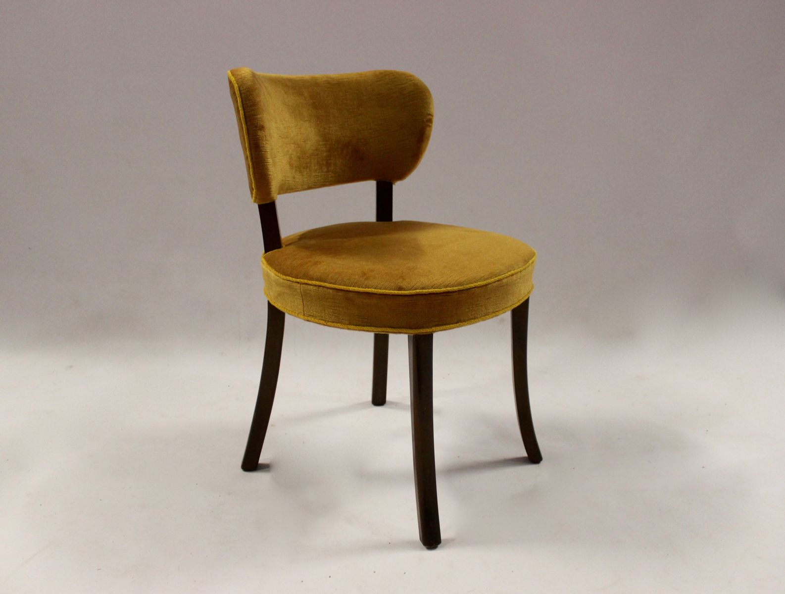 Small Chair For Sale Small Yellow Chair In Mahogany 1930s For Sale At Pamono