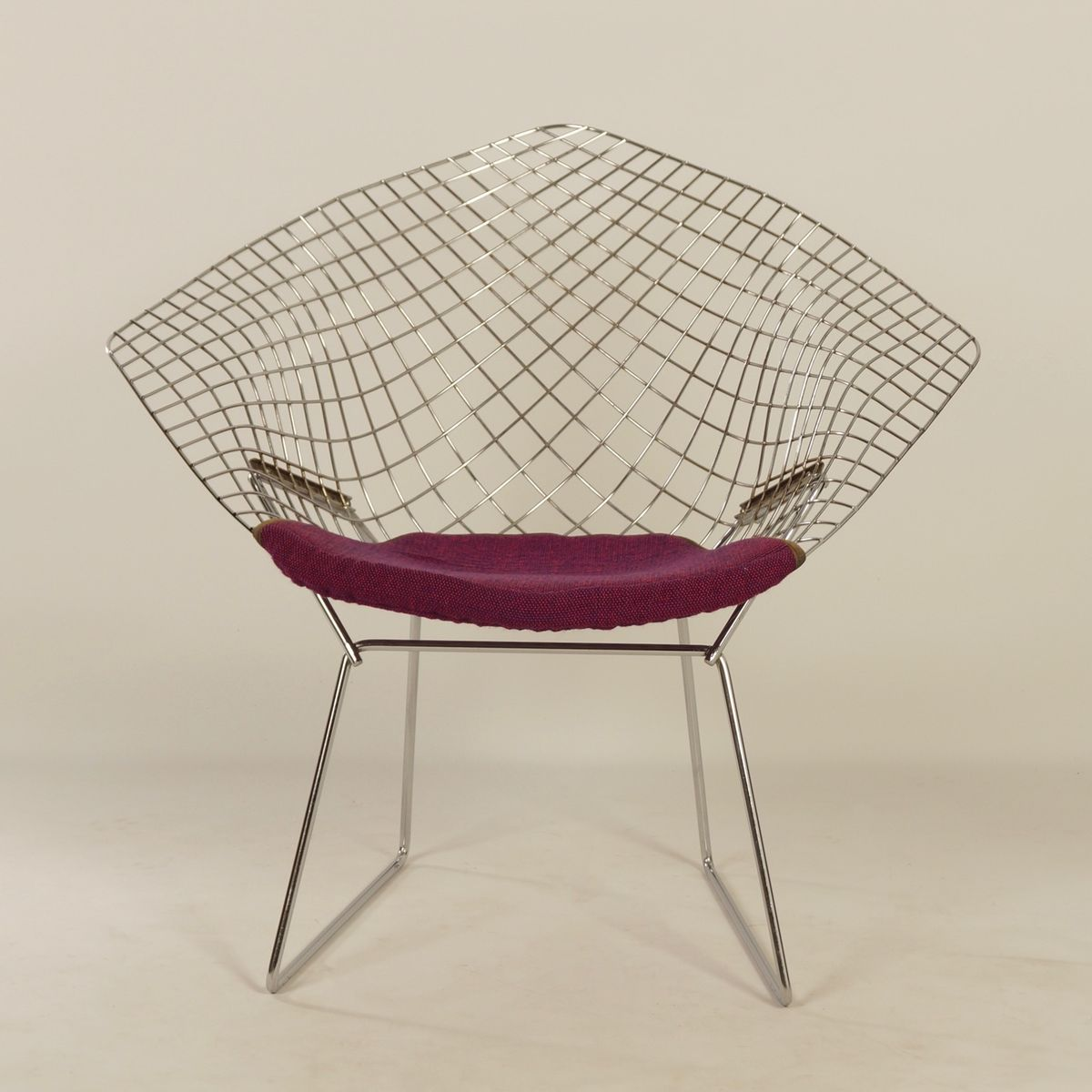 Diamond Sessel Mid Century Diamond Chair Von Harry Bertoia Für Knoll 1950er