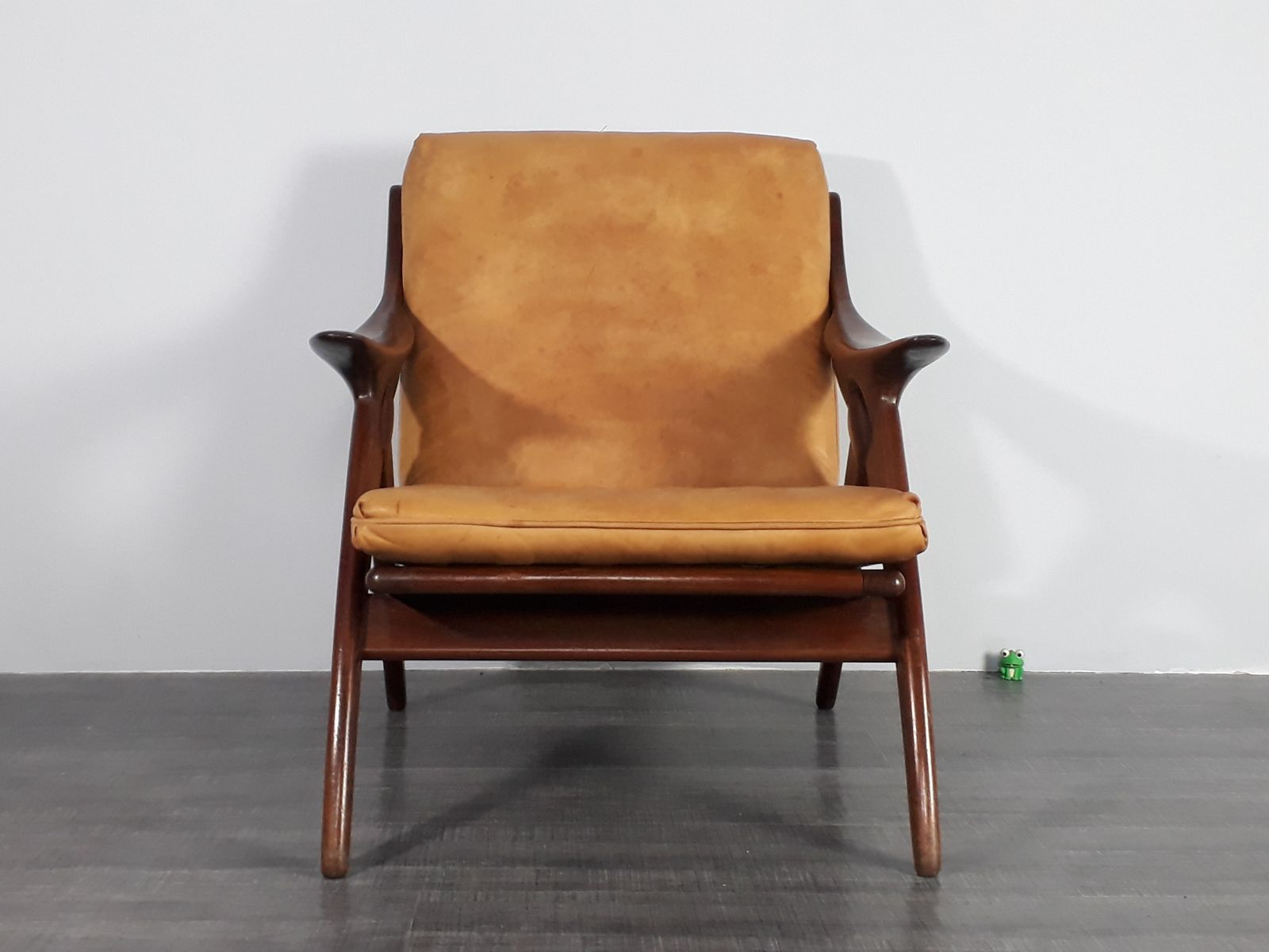 Retro Sessel Sale Leather Knoop Lounge Chair By De Ster 1950s