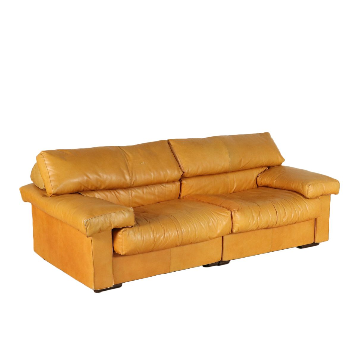 Divano B&b Coronado Prezzo Leather Sofa By Afra And Tobia Scarpa For B B Italia 1970s