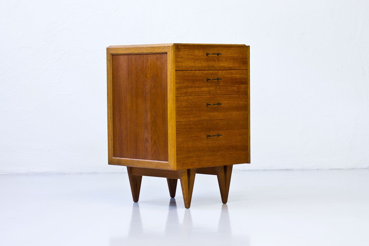 Ikea Malm Credenza : Vintage ikea sideboard bamboo nightstand s faux