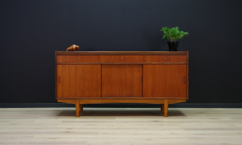 Danish Teak Credenza For Sale : Sideboard danish teak la loveantiques