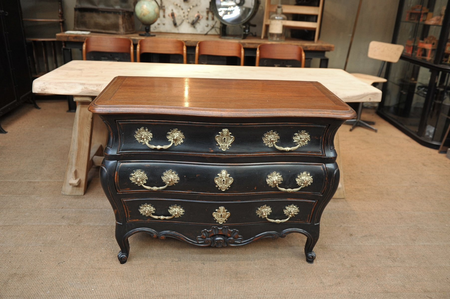 Commodes Louis 15 Louis Xv Style Commode 1950s