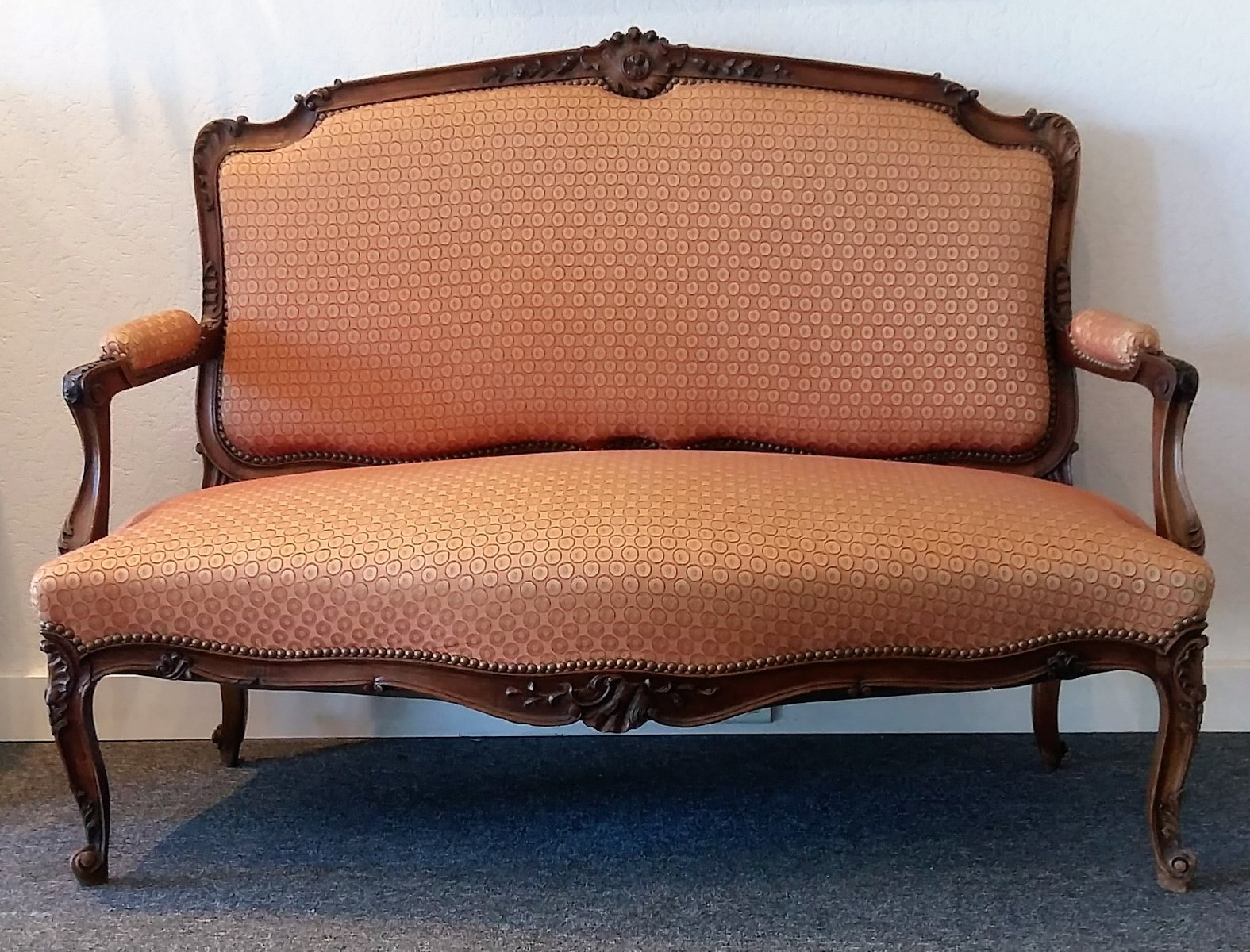 Antike Sofas Contemporary Antike Bank Aus Nussholz 1880er