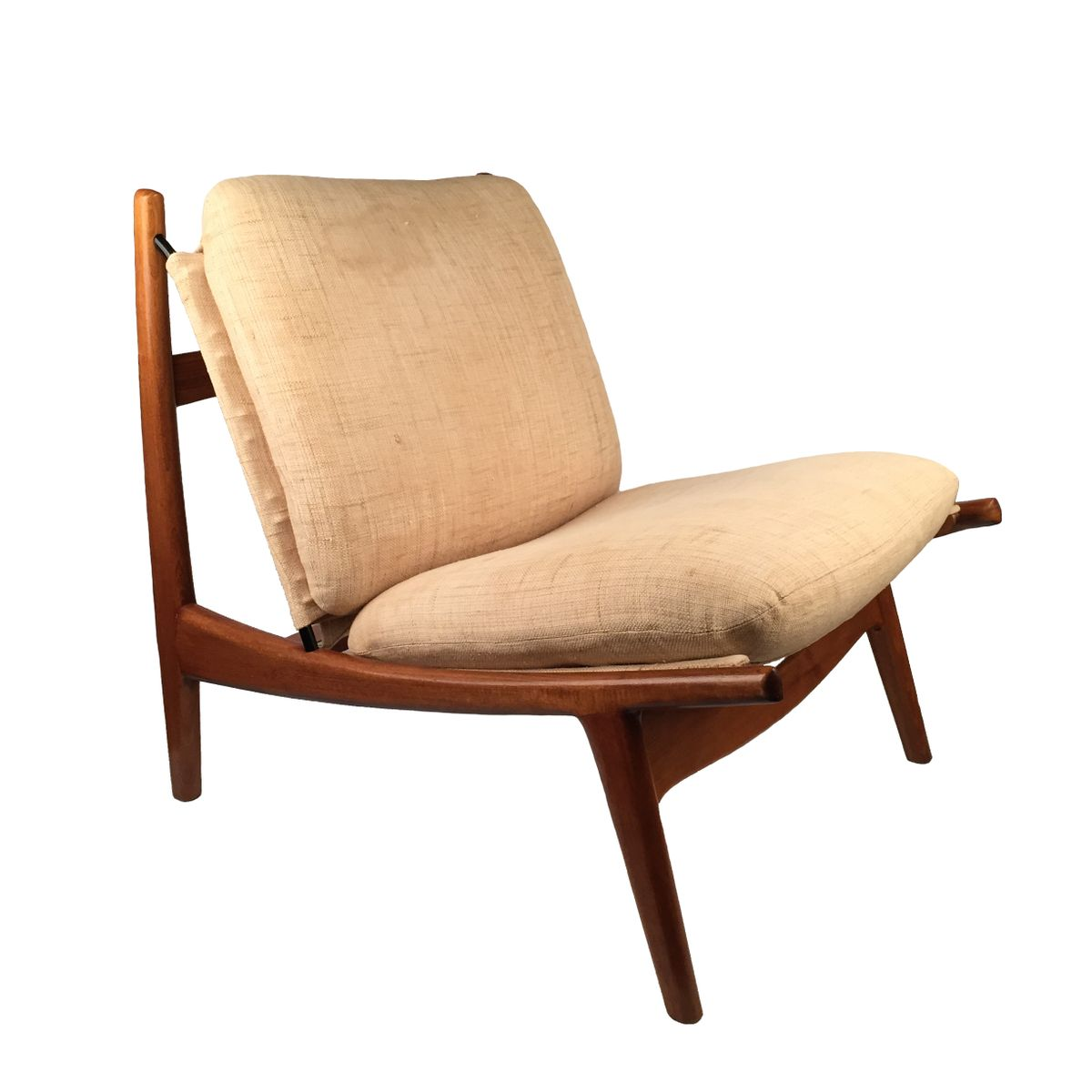 Fauteuils Steiner Vintage Vintage Lounge Chair By Joseph André Motte For Steiner