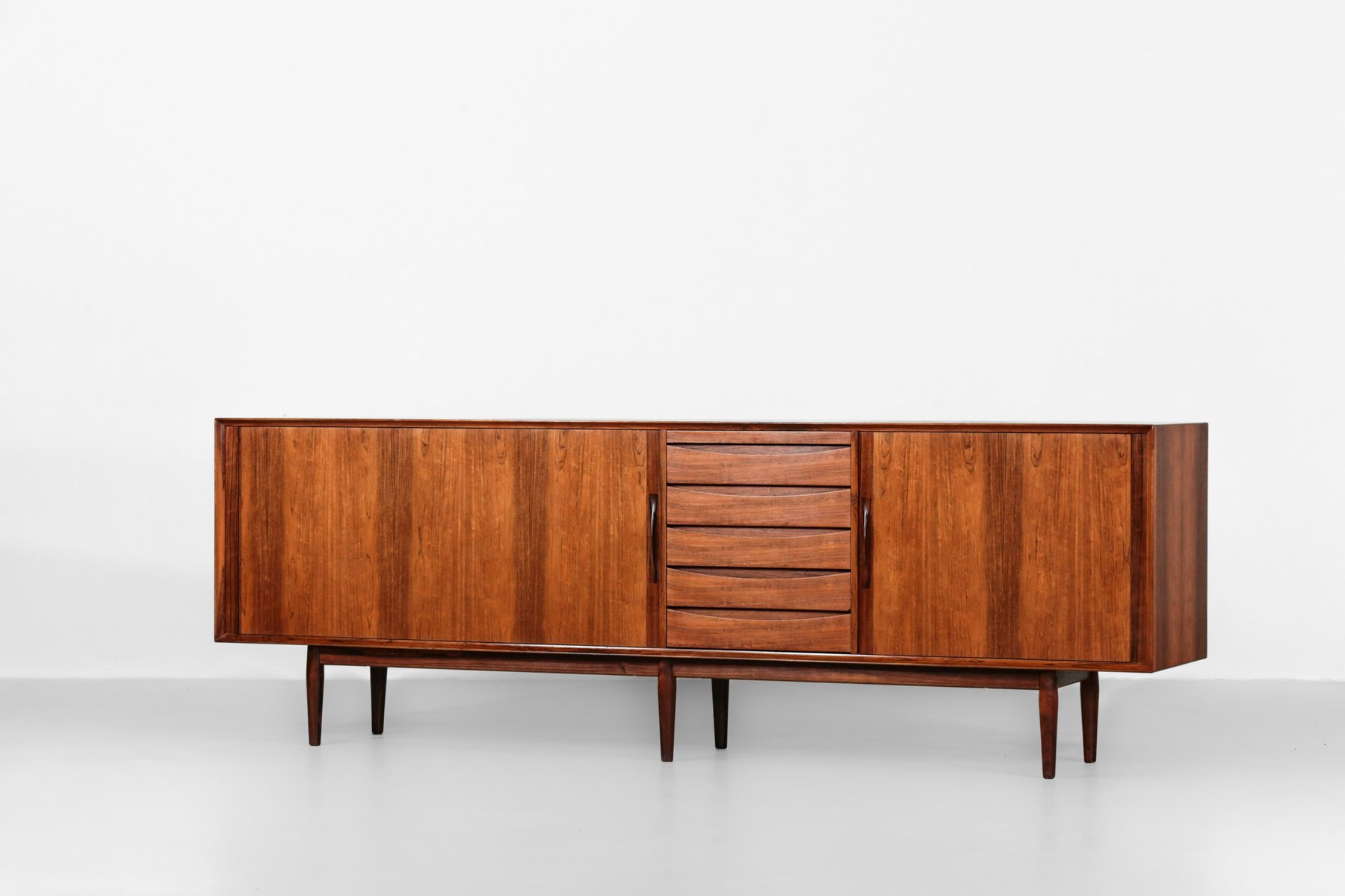 Vintage Rosewood Sideboard Vintage Model 76 Rosewood Sideboard By Arne Vodder For Sibast