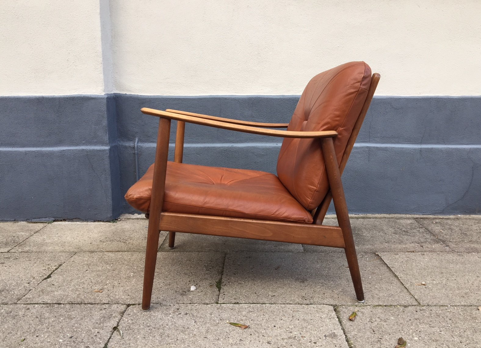 Teak Sessel Danish Danish Easy Chair