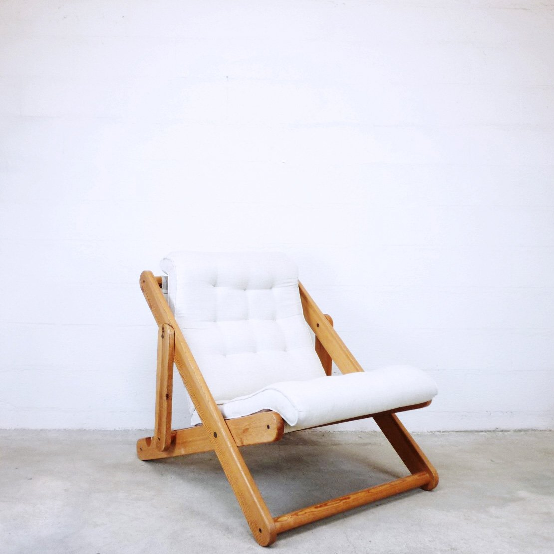 Vintage Ikea Stool Vintage Kon Tiki Lounge Chair From Ikea 1970s For Sale At