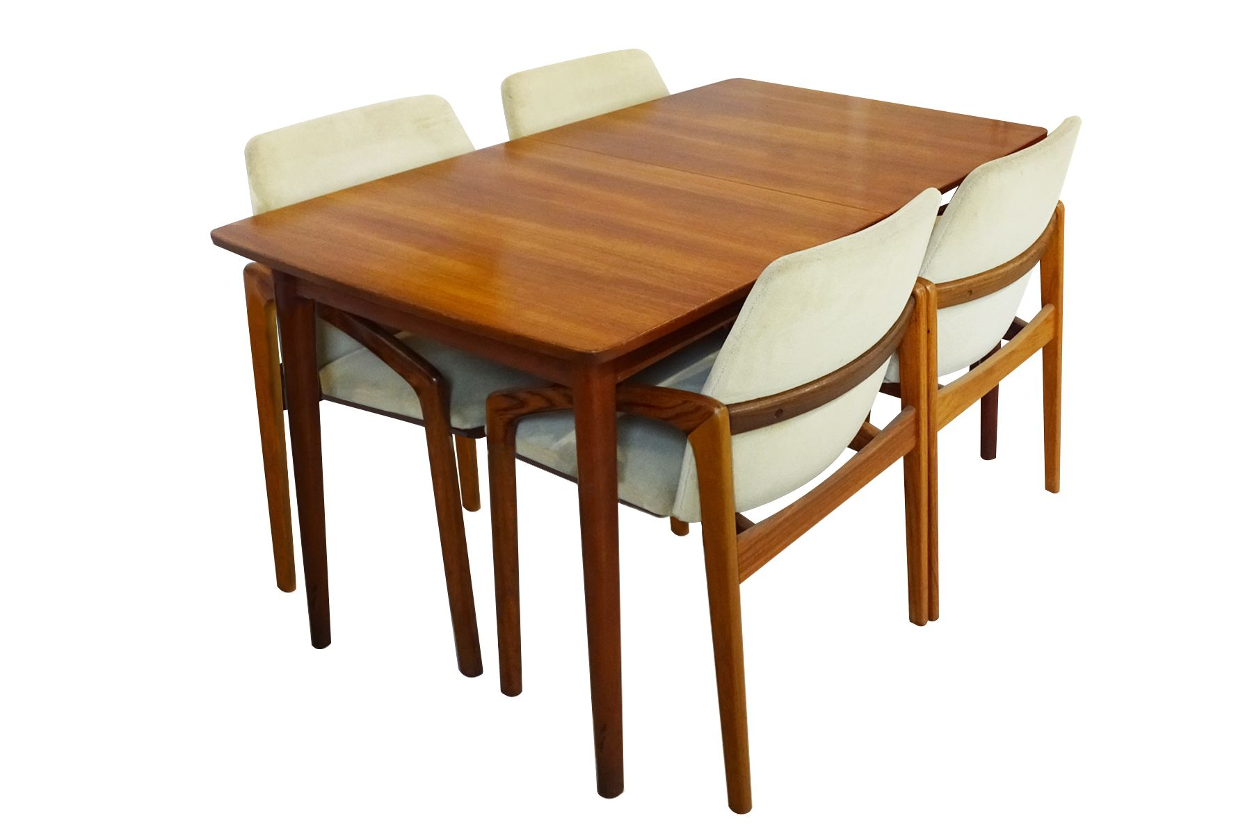 Extending Dining Table Mid Century Danish Extending Dining Table By Nils Jonsson
