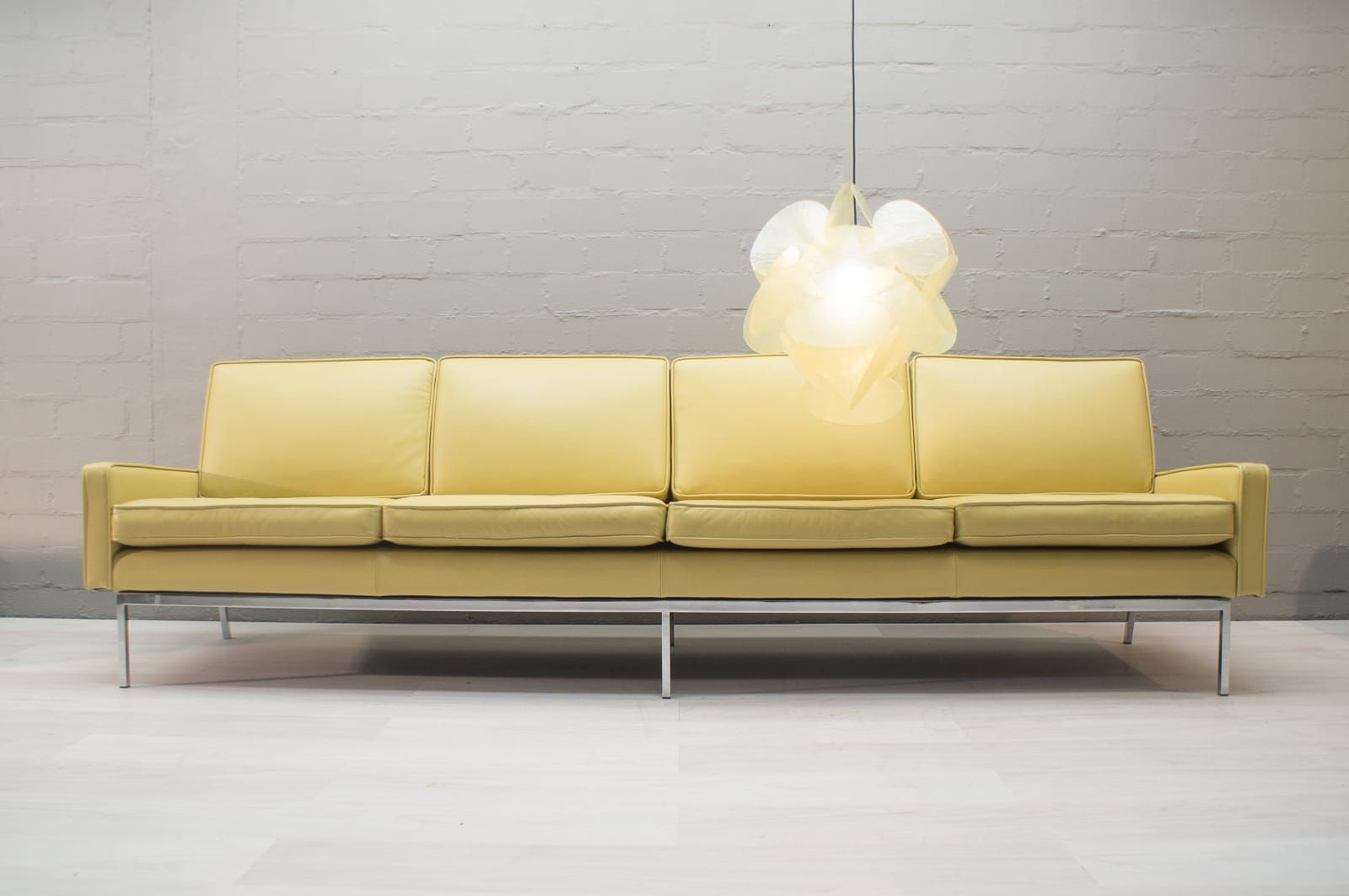 4 Seater Sofa Australia Leather 4 Seater Sofa By Florence Knoll For Knoll