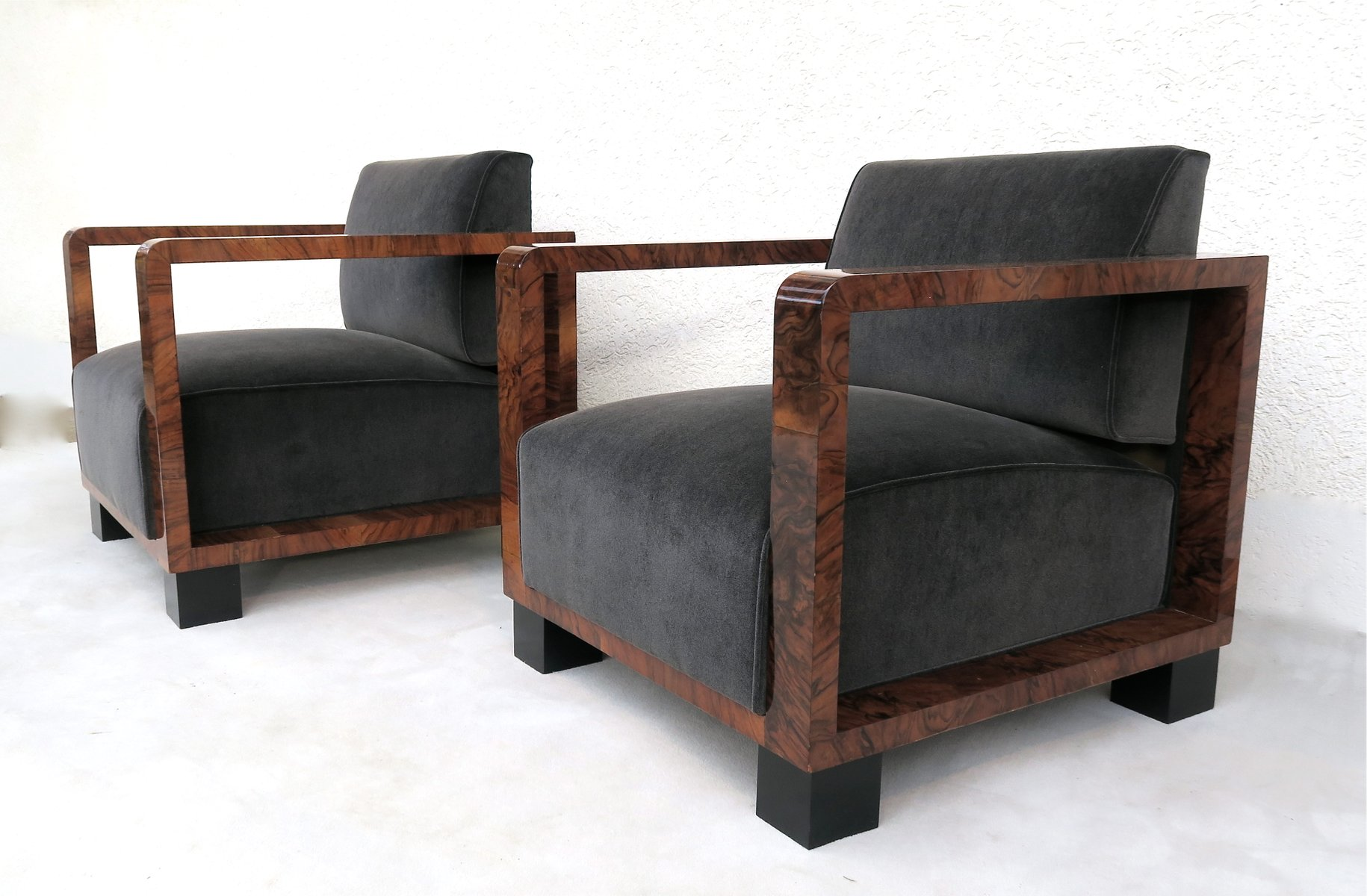 Sessel Art Deco Art Deco Sessel 1940er 2er Set