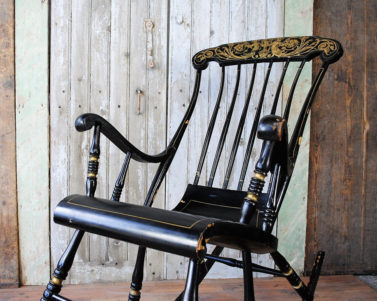 Swedish Rocking Chair Antique Swedish Rocking Chair 1850s For Sale At Pamono