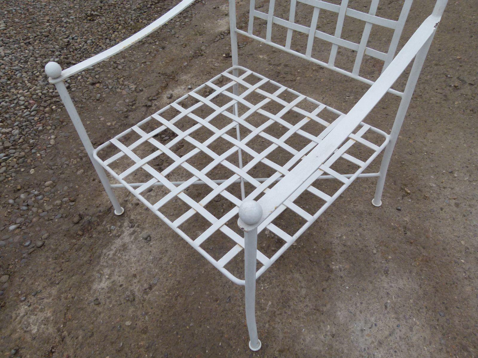 Fauteuils Jardin Fer Forge | Chaise De Jardin En Fer Maison Design ...