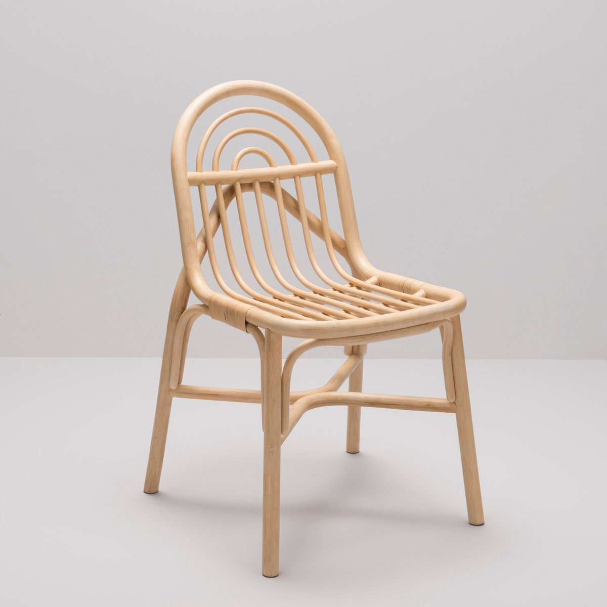 Sillon Rattan Chair By Guillaume Delvigne For Orchid Edition For Sale At Pamono