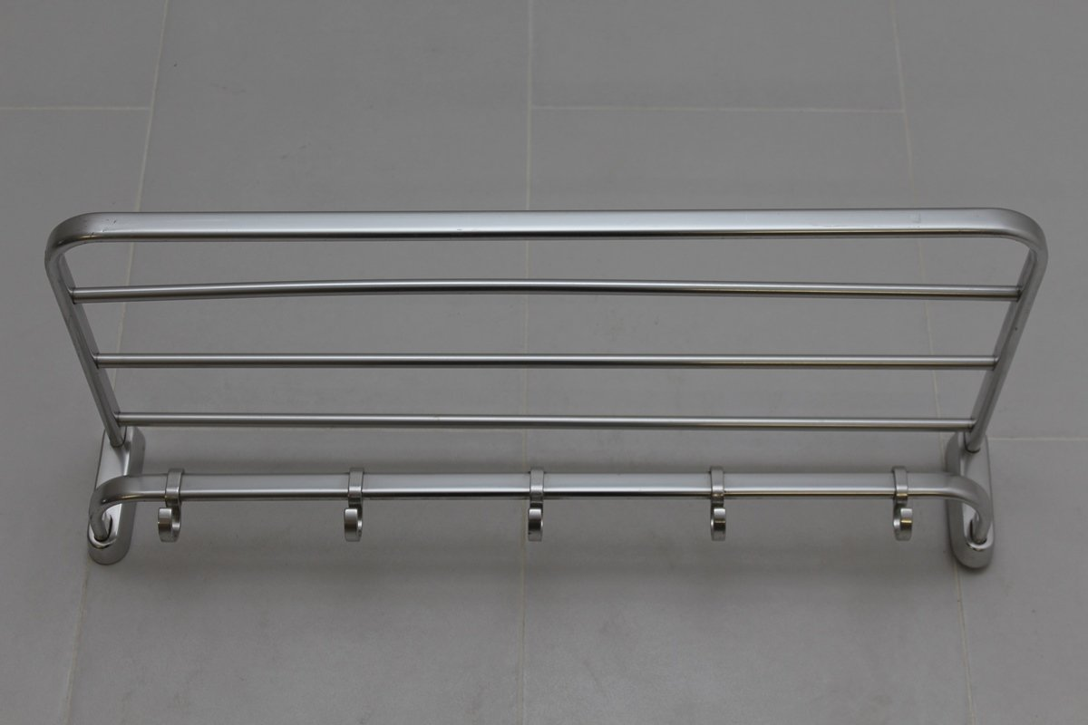Alu Fensterbank Bauhaus Bauhaus Style Polished Aluminium Coat And Hat Rack 1940s