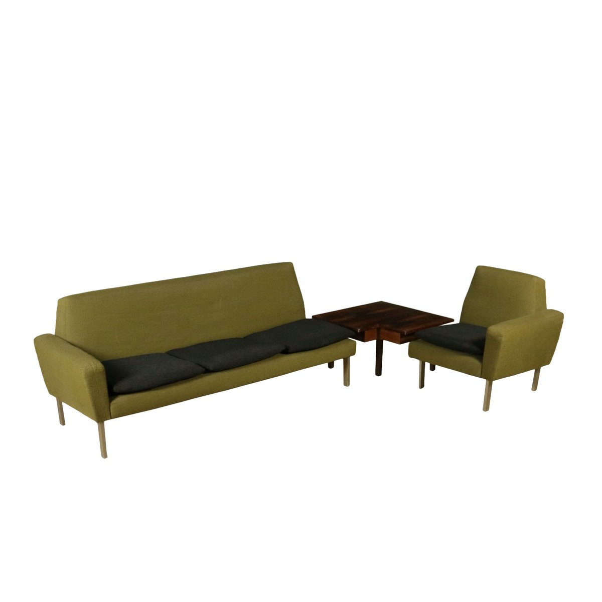 Corner Sofa With Coffee Table 1960s For Sale At Pamono
