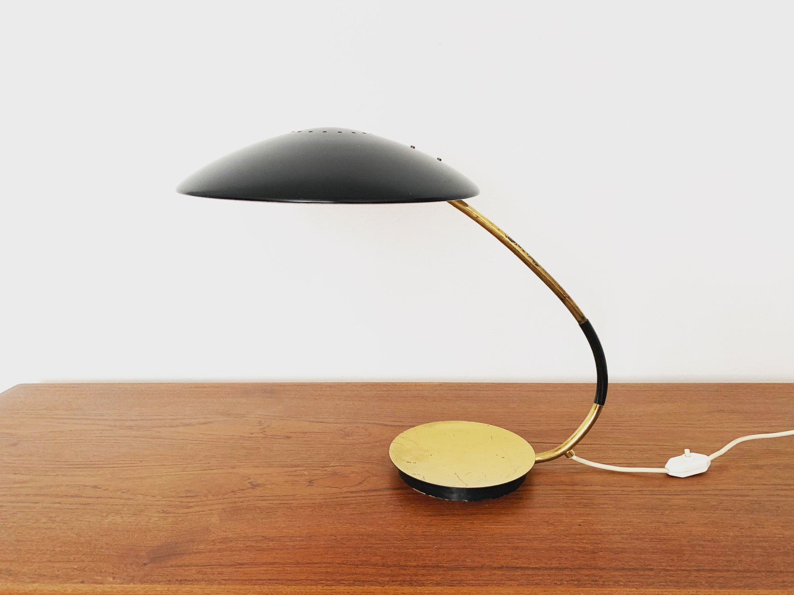 Leuchten Kaiser Mid-century Brass Model 6787 Table Lamp From Kaiser Idell / Kaiser Leuchten, 1950s For Sale At Pamono
