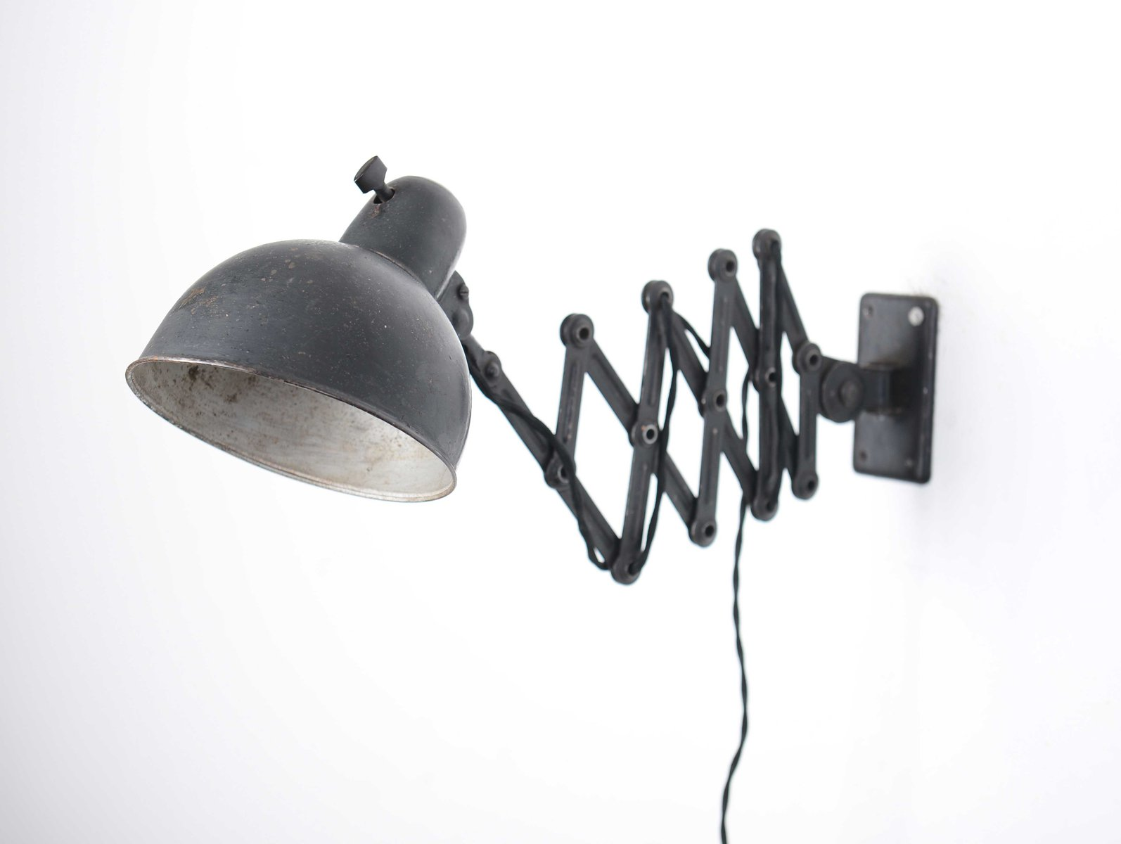 Leuchten Kaiser Model 6582 Scissor Lamp By Christian Dell For Kaiser Idell/kaiser Leuchten, 1930s For Sale At Pamono