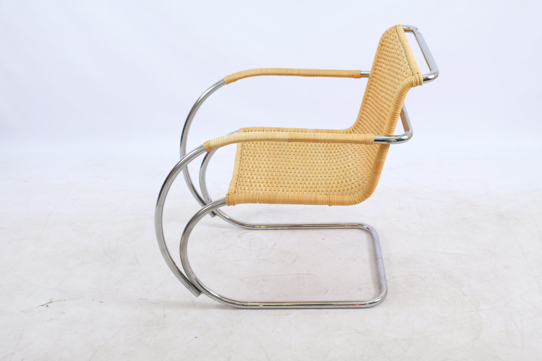 Vintage Lounge Chair By Ludwig Mies Van Der Rohe For Knoll Inc Knoll International For Sale At Pamono