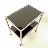Bauhaus Metall & Glas Servierwagen bei Pamono kaufen