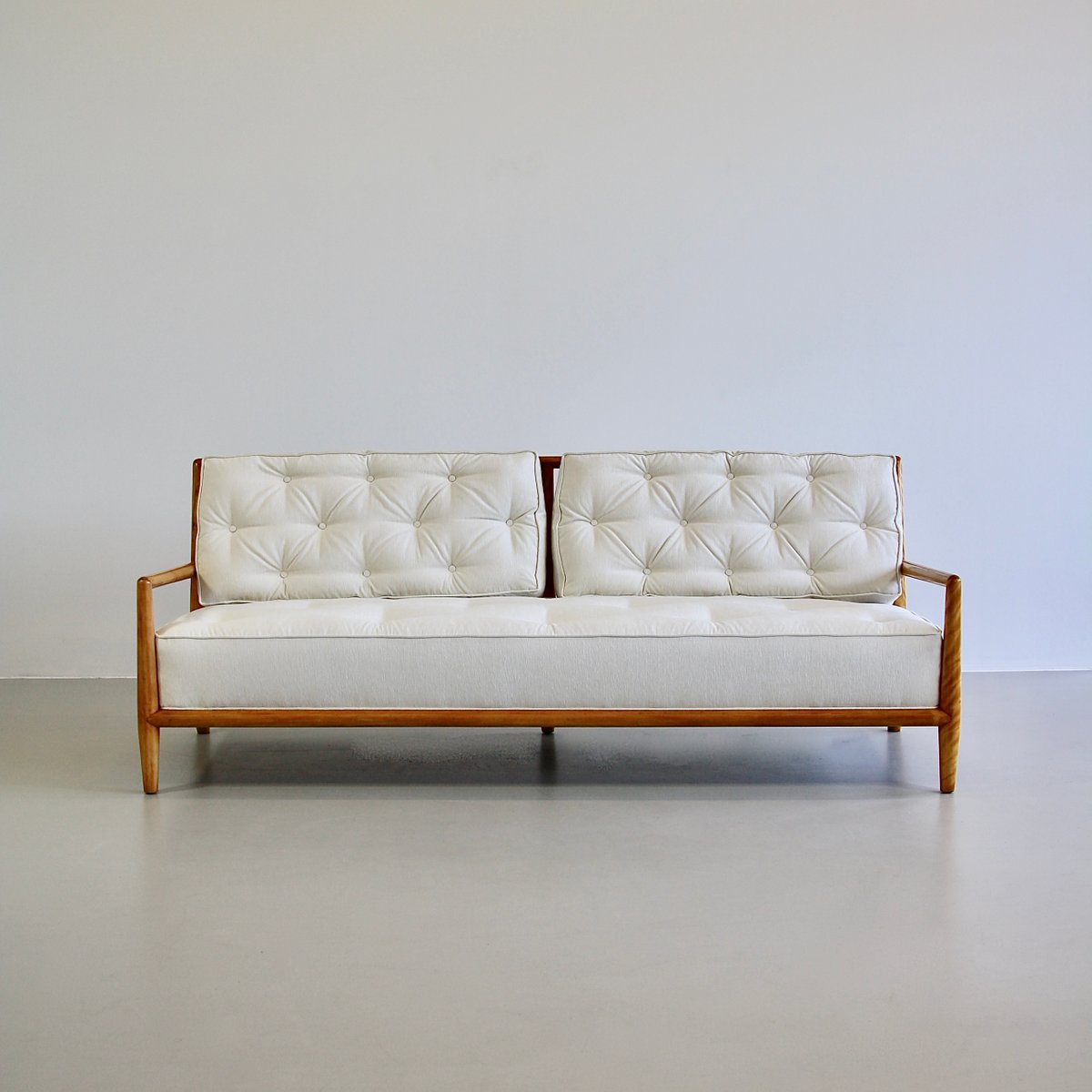 Large Mid Century Sofa By T H Robsjohn Gibbings For Widdicombe 1950s For Sale At Pamono