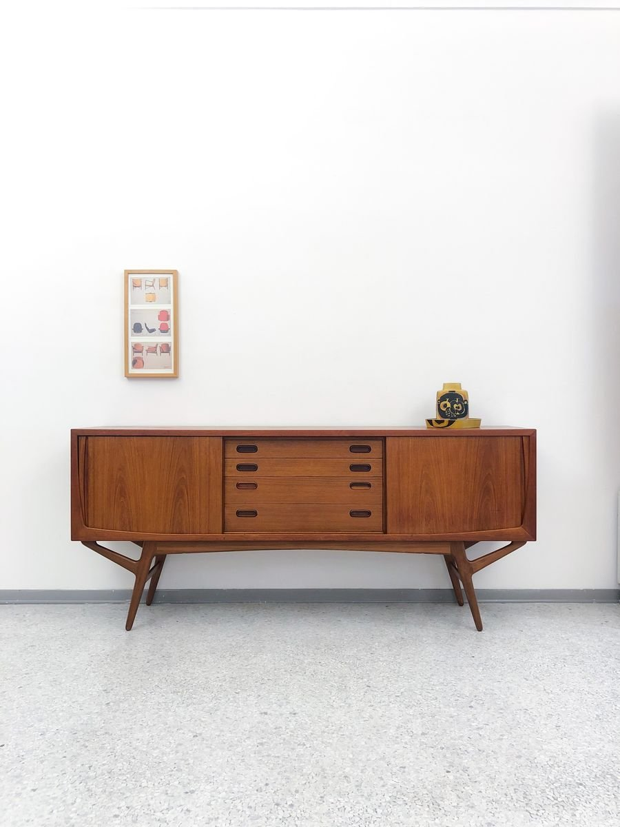 Sideboard Antik Danish Teak Sideboard By Harry Østergaard For Randers Møbelfabrik, 1960s For Sale At Pamono