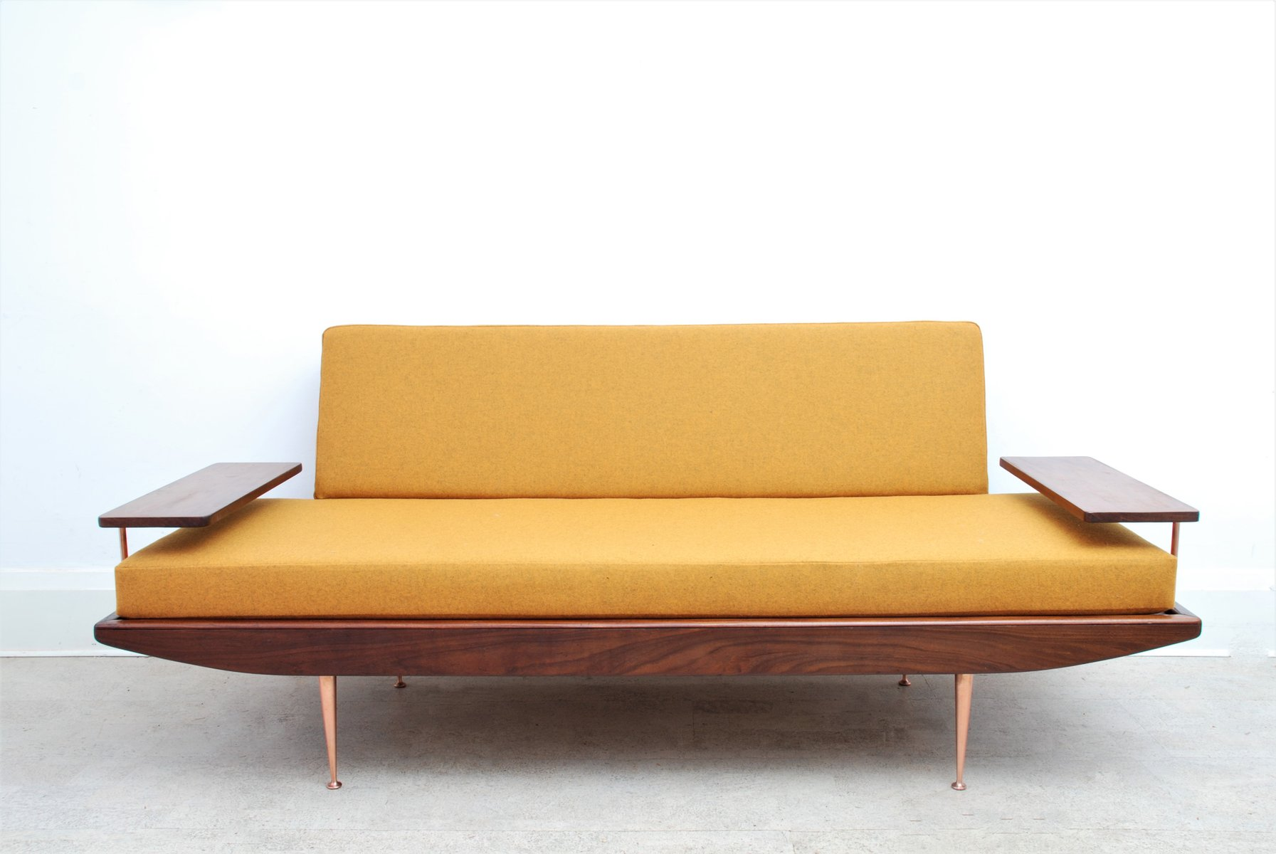 Mid Century Modern Sofa Daybed From Toothill 1950s For Sale At Pamono