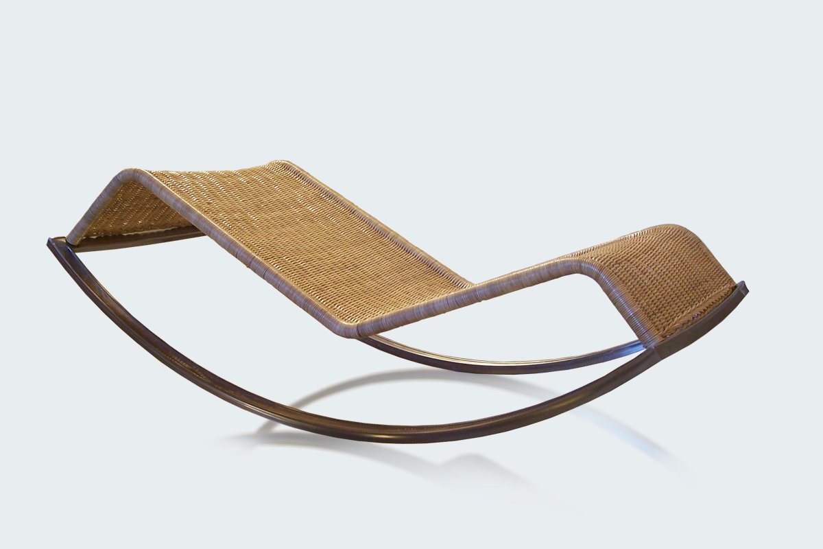 Chaise Rocking Chair Siesta Rocking Chaise Lounge By Luis Ramírez