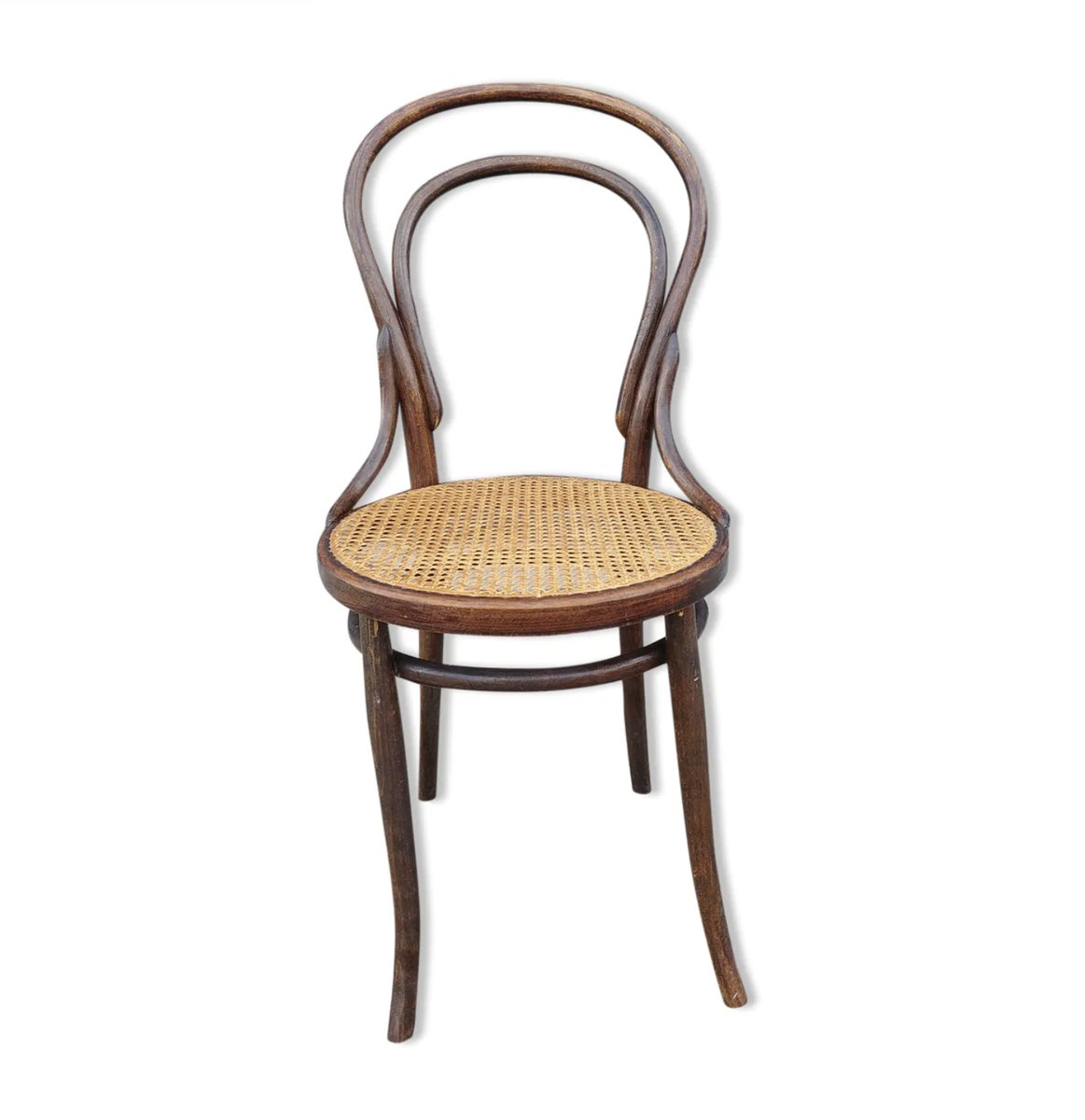 Antique Bistro Chair From Cambier For Sale At Pamono