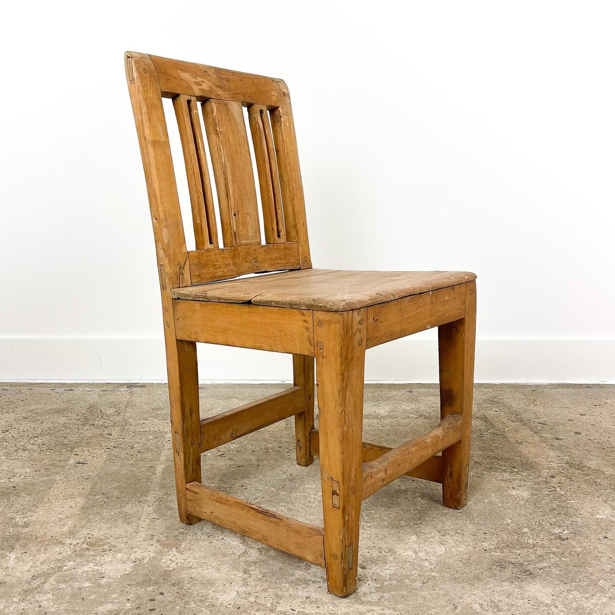 Antique Swedish Elm Farmhouse Chair For Sale At Pamono