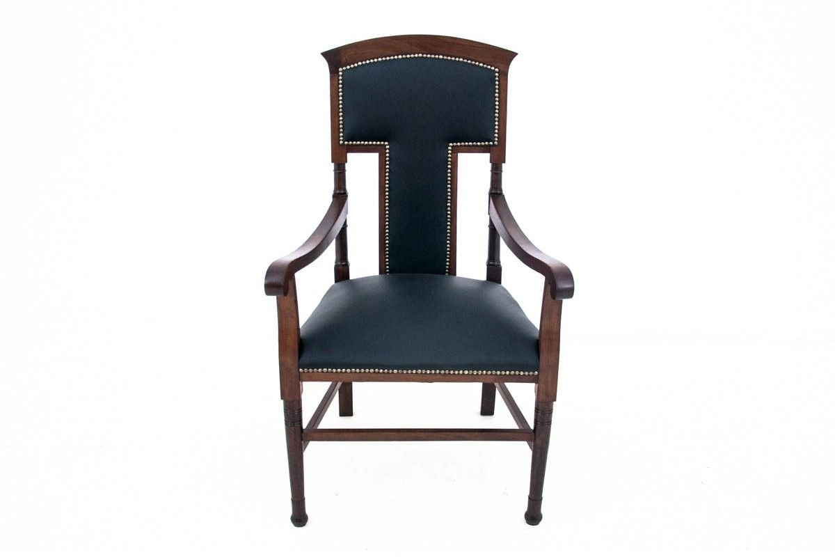 Restored Western European Armchair Circa 1910 For Sale At Pamono