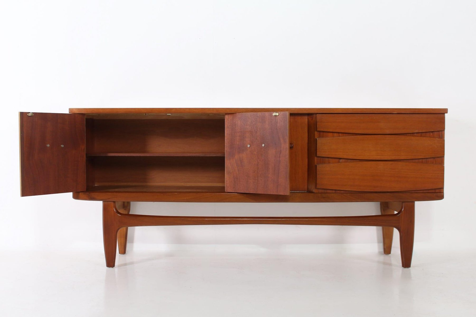 Sideboard Antik Scandinavian Teak Sideboard, 1960s For Sale At Pamono
