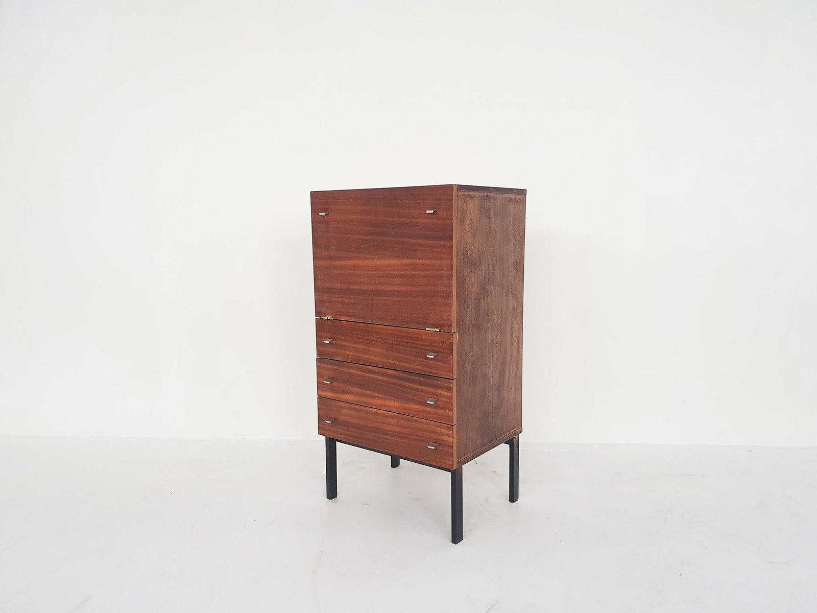 Bar Cabinet By Pierre Guariche For Meurop Belgium 1960 S For Sale At Pamono