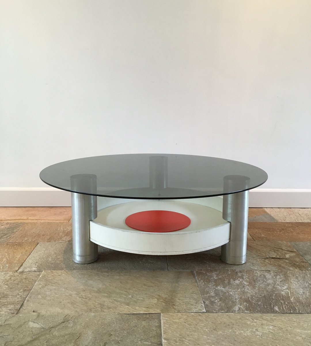 Couchtisch Marvel Vintage Industrial Space Age Coffee Table For Sale At Pamono