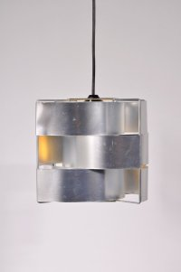 Aluminium Hanging Lamp from Max Sauze, 1960s for sale at ...