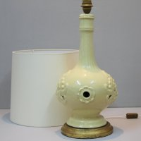 Large Vintage Spanish Ceramic of Manises Table Lamp for ...