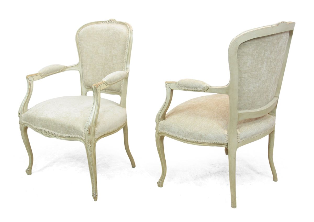 Chaise Style Louis Xv Chaises Style Louis Xv Antique Set De 2 En Vente Sur Pamono