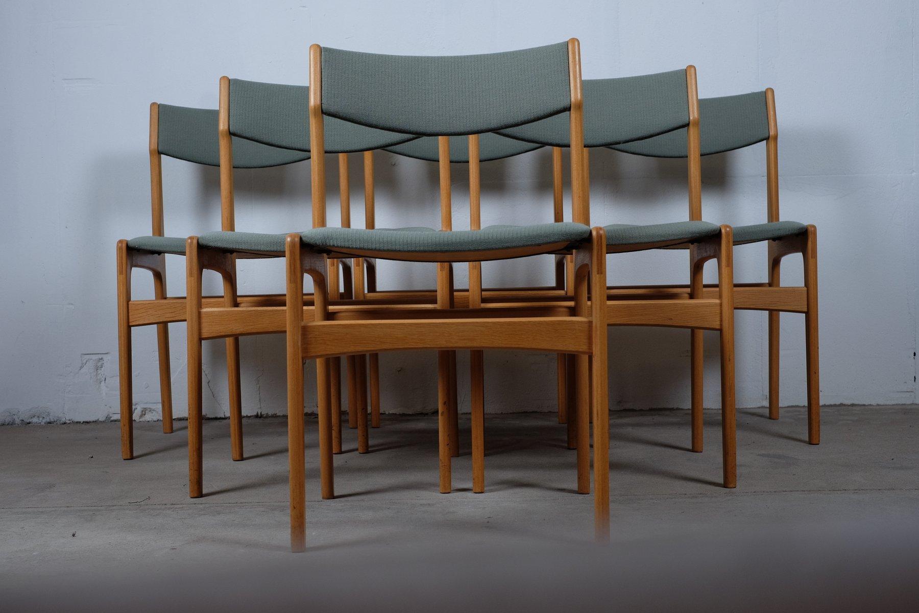 Chaises De Salon Vintage Danemark Set 6 En Vente Sur