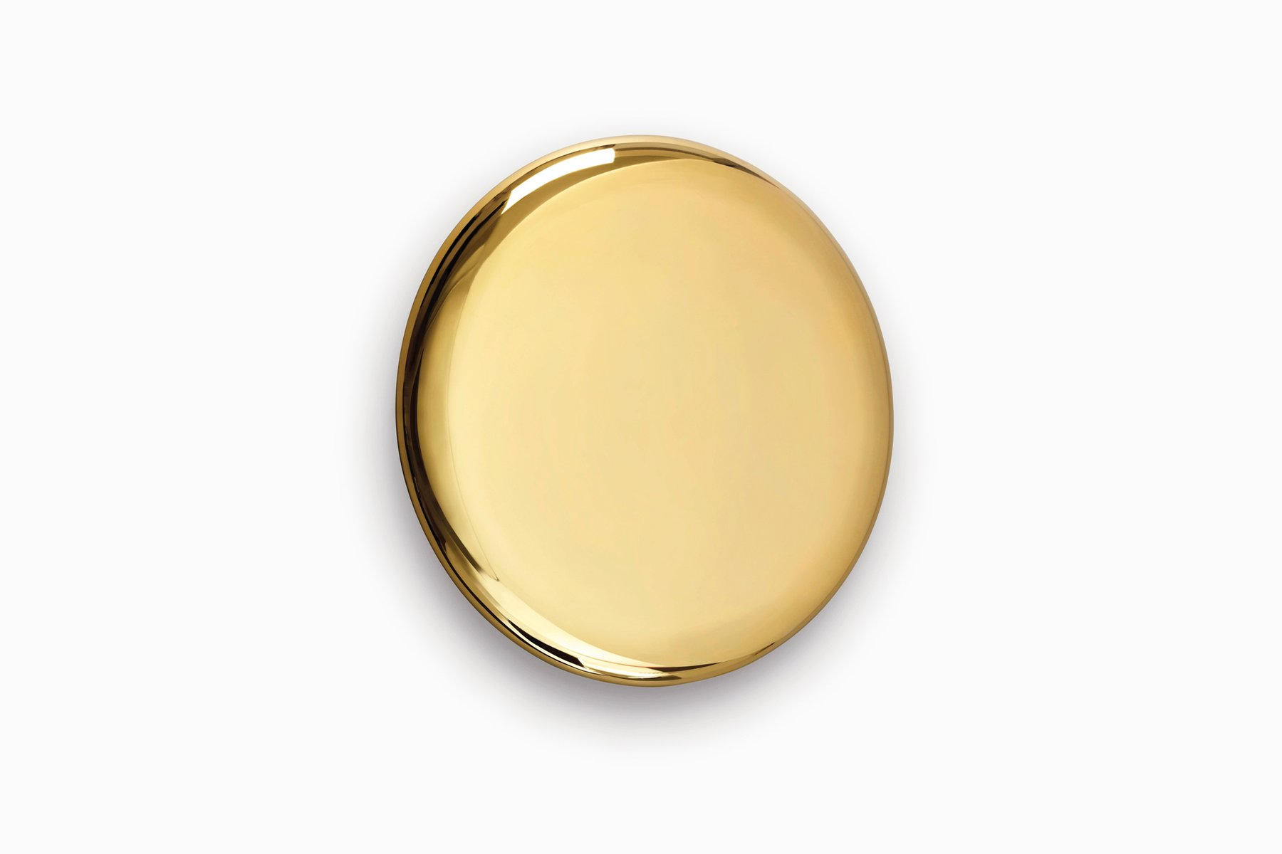Beauty Mirror Beauty Mirror In Gold By Michael Anastassiades For Sale At