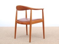 Scandinavian The Chair Armchair by Hans J. Wegner for ...