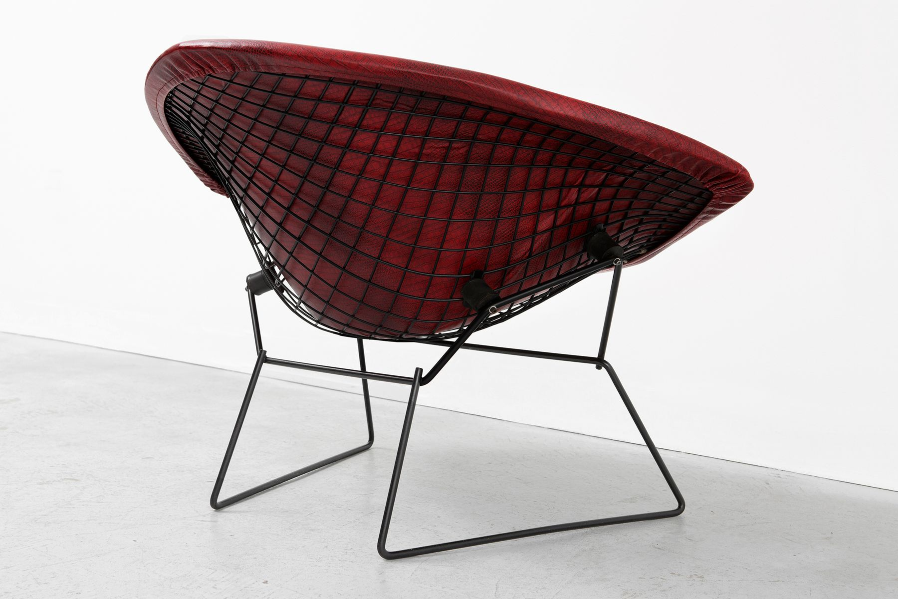 Chaise Diamond Bertoia Vintage Diamond Rocking Chair By Harry Bertoia For Knoll Associates
