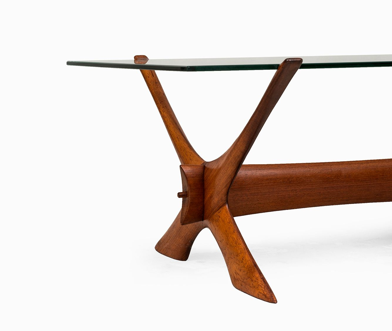 Fredriks Couchtisch Two Colour Condor Coffee Table By Fredrik Schriever Abeln For Örebro Glas Sweden 1960s