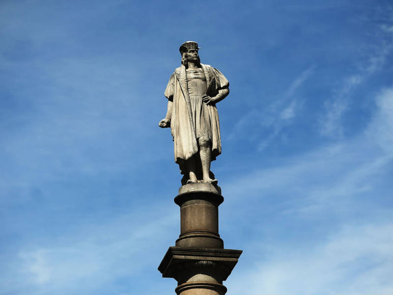 Controversial Columbus Circle Statue Gets Honored By State