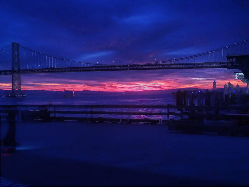 Pink To Orange - San Francisco Sunrise Photos Of The Day San