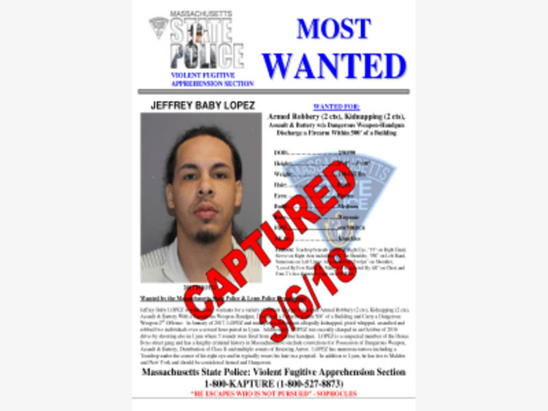 MA Most Wanted Fugitive Found Hiding In NJ Apartment Police - criminal wanted poster
