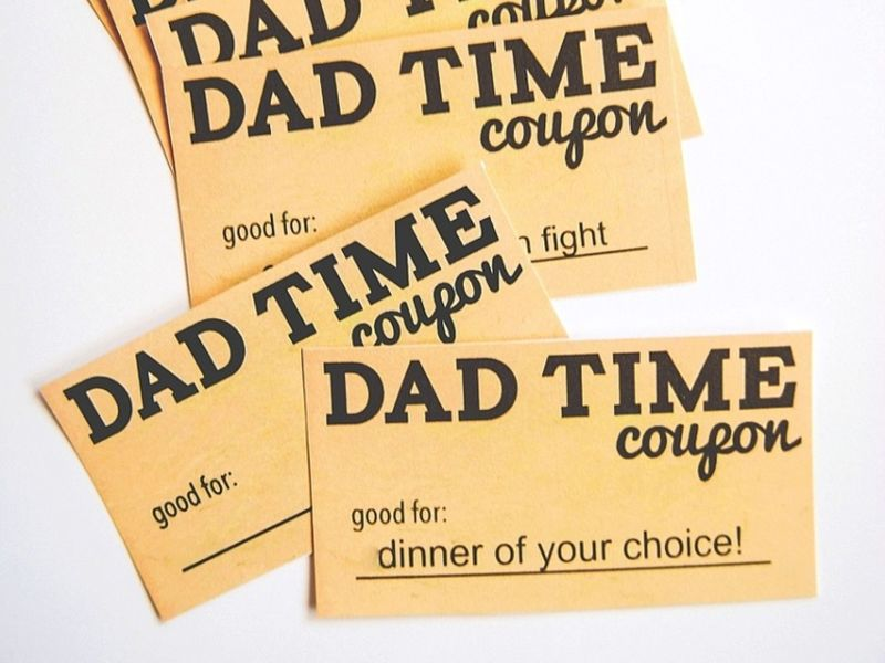 DIY Father\u0027s Day Gift Dad\u0027s Coupon Book Across America, US Patch