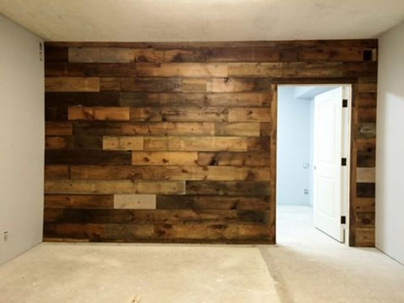 3d Fall Ceiling Wallpaper Endgrain Lumber Reclaimed Barn Wood Siding Pallet Wood